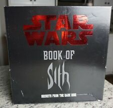 Book of Sith Secrets from the Dark Side STAR WARS Vault Edition