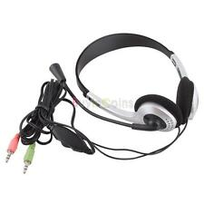 Handsfree Stereo Headset With Microphone For PC Computer VOIP SKYPE YU