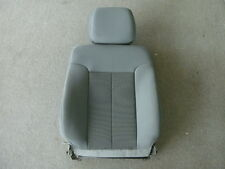 14 Ford F-550 Super Duty gray cloth right front seat back w/headrest