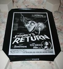FRANKENWEENIE SPARKY'S RETURN CANVAS GICLEE PRINT POSTER LIMITED EDITION 22/295