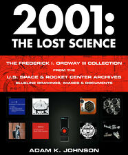 Autographed 2001 A Space Odyssey - The Lost Science - Photo Book and DVD