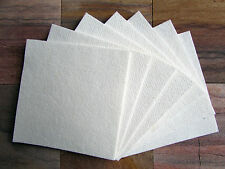 "Kiln Shelf Paper 10 Sheets 6 X 6"" • 1mm • Firing Temps Up To 2300°f Glass Fusing"
