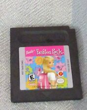 GENUINE NINTENDO GAME BOY BARBIE FASHION PACK~ GAME CARTRIDGE