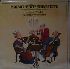 AKTION : MOZART Flötenquartette - NICOLET - MÜNCHNER STREICHTRIO