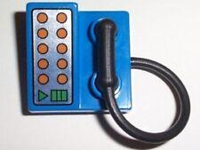 LEGO - Duplo Utensil Telephone on Brick 2 x 2 - Blue