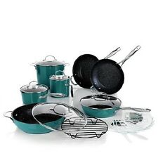 Curtis Stone DuraPan Nonstick Chefs Cookware 13 piece Set