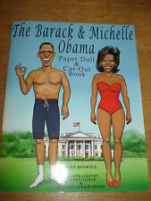 The Barack and Michelle Obama: Paper Doll and Cut-Out Book (Paper Dolls)