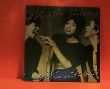 POINTER SISTERS - SO EXCITED - 1982 PLANET - WITH LINER - EX LP VINYL RECORD -T