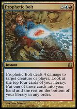 Prophetic Bolt X4 LP Old Commander MTG Magic Gathering Gold Rare
