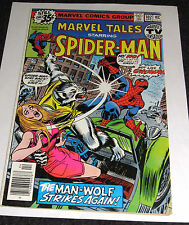 New listing Marvel Tales #102 from Apr. 1979 - Spider-Man -Man-Wolf