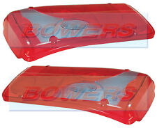 PAIR OF VIGNAL LC8 REAR TAIL LIGHT LAMP LENSES MAN TGA TGL TGM TGX LEFT & RIGHT