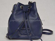 NWT MARC By Marc Jacobs M0007214 Small Drawstring Bag in Amalfi Coast-Dark Blue