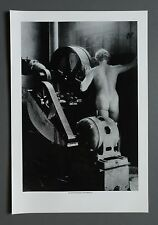 Rare Valentine Atkinson 1979 Offset Lithograph Photo Print 33x48cm Male B&W Nude