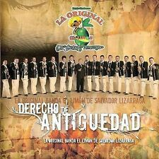 La Original Banda El Limon De Sa: Derecho De Antiguedad  Audio CD