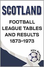 Scotland - Football League Tables & Results 1873 to 1973, Alex Graham, New Condi