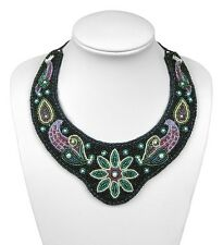"""Symphony"" Beaded Collar BEAD EMBROIDERY KIT - Suitable for complete beginners!"