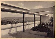 Original Weissenhof Estate Postcard LE CORBUSIER house 1927 Werkbund Bauhaus