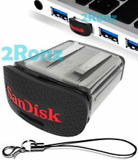 SanDisk Ultra Fit CZ43 128GB 128G USB 3.0 Flash Drive Disk Cruzer Nano Car Strap