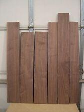 """6 pieces Black Walnut Lumber 13/16 """" thick  W9"""