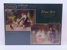 LOT 26826 Falcon Puzzle 11002 Fine Art by Frederick Morgan 2x 1000 Teile NEU OVP
