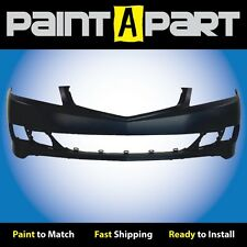 Fits: 2006 2007 2008 Acura TSX Sedan Front Bumper (AC1000156) Painted
