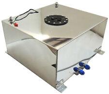 New Polished Aluminum 10 Gallon OEM Fuel Cell Tank & Sender Hot Rod Rat Rod V8