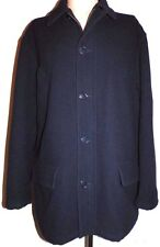 Men's XL Polo Ralph Lauren Men's Wool Car Coat - Dark Navy