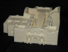 Z Scale Alamo Chapel Fort building Scale model Resin Unpainted works with 6mm