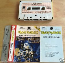 IRON MAIDEN - Live After Death MC RARE 1'ST POLISH PRESS 1989 RC