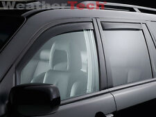 WeatherTech® Window Deflectors for Honda Pilot - 2009-2015 - Dark Tint