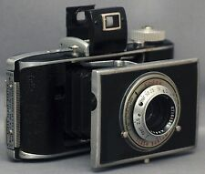 KODAK Flash Bantam Folding Vintage Camera F4.5 48mm Lens w Case