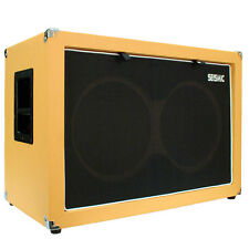 Seismic Audio EMPTY GUITAR SPEAKER CABINET 2x12 Cab 212 Orange Tolex