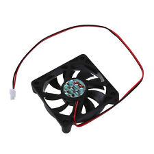 Desktop PC Case DC 12V 0.16A 60mm 2 Pin Cooler Cooling Fan AD