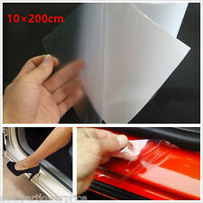 Universal 10×200cm Clear Car Door Sill/Edge Paint Protection Anti-Scratch Film