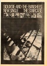 SIOUXSIE and Banshees The Staircase 1979 UK Poster size Press ADVERT 16x12""
