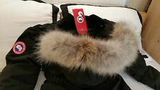"2017 ""LATEST CONCEPT"" RED LABEL BLACK CANADA GOOSE TRILLIUM MEDIUM PARKA JACKET"