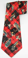 MERCEDES Fly Fishing NYMPH Fishing Lure Men's Dress Neck Tie