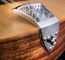 NEW! Ashton Bailey Cast Mandolin Tailpiece in Chrome from Morgan Monroe Part