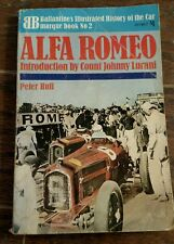 Book - Alfa Romeo By Peter Hull - Paper back