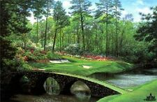 The 12th at Augusta by Larry Dyke Golf