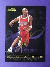 Kobe Bryant 96-97 RARE STAMPED Scoreboard All Sports Rookie RC GOLD ON CARD AUTO