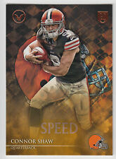 CONNOR SHAW 2014 Topps Valor Football Speed Parallel Card #63 Browns
