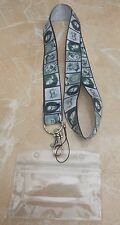 Horror Figures Lanyard / Neck Strap for Pin Trading inc. Waterproof Holder