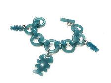 Bijou lucite bracelet créateur poissons Diplodocus bangle