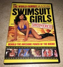 The World Famous Maxim Swimsuit Girls Uncovered dvd RARE oop Kim Smith bikini
