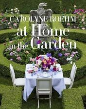 At Home in the Garden by Roehm, Carolyne. 1101903570 Hardcover Book. Good Cond.