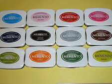 Lot of 12 MEMENTO  TSUKINEKO Fade-resistant Dy Ink - new in plastic wrap