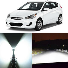 Alla Lighting Headlight 9003 White LED Conversion Kits for 00~13 Hyundai Accent