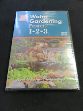 WATER GARDENING 1-2-3 THE HOME DEPOT Garden Landscape Yard Gardens Yards DVD NEW
