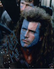 MEL GIBSON - BRAVEHEART AUTOGRAPH SIGNED PP PHOTO POSTER